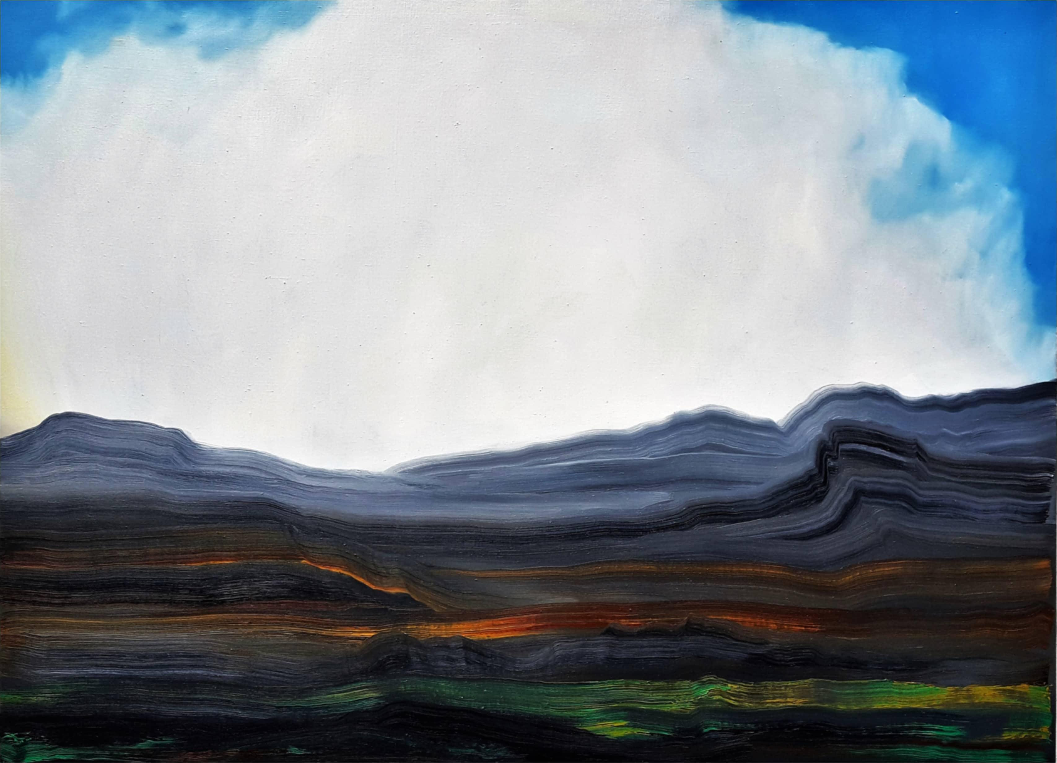 325-1 - Abstrakte Berglandschaft