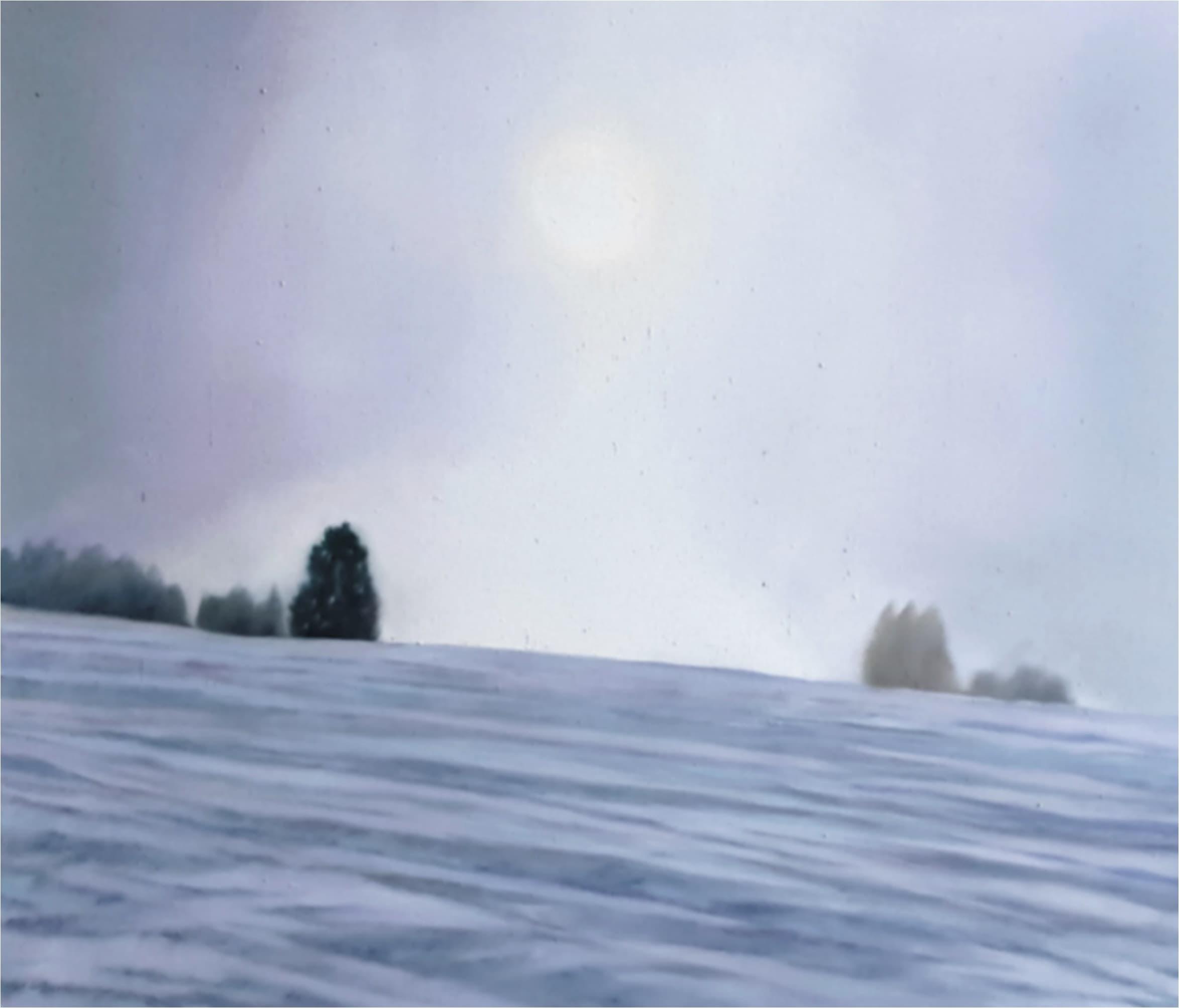 355 - Winterlandschaft frei nach Marc Zwahlen